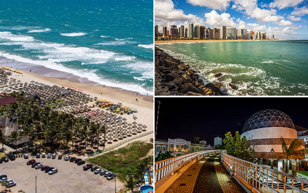 Fortaleza means 'fortress'. It was founded in 1726. The city is famous for it's cultural mixture of native and colonial traditions