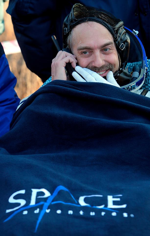 American video game developer Richard Garriott was the sixth person to fly to the ISS. He flew with a Soyuz TMA-13 and paid $30 mln. Garriott, the son of  NASA astronaut Owen Garriott, spent 10 days on the ISS (October 14-24)
