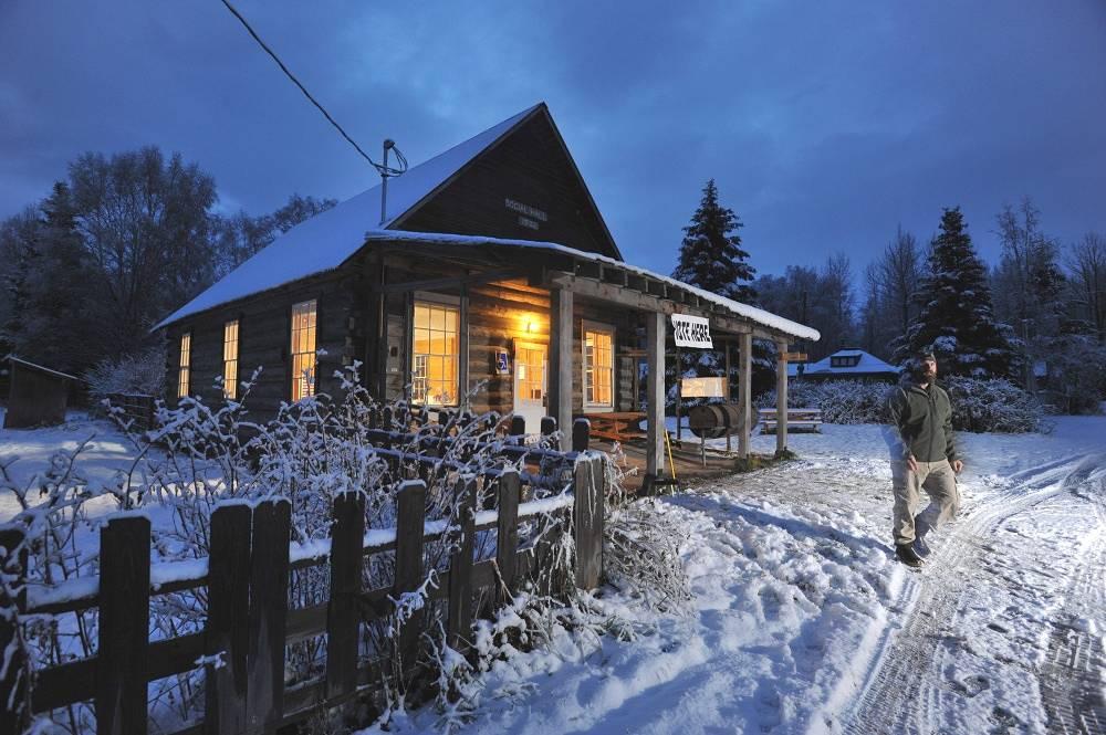 Kenai town in Alaska
