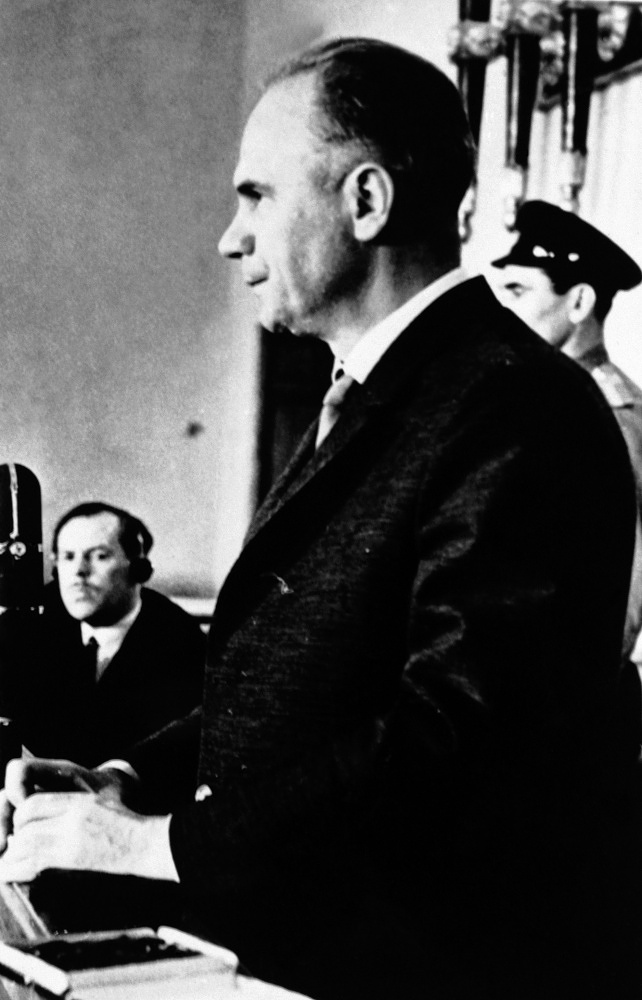 Greville Wynne was arrested in 1962 and sentenced to 8 years in prison in the Soviet Union. He was an intermediary for the double agent Soviet spy Oleg Penkovsky (photo), who informed the UK and US about the Soviet emplacement of missiles in Cuba