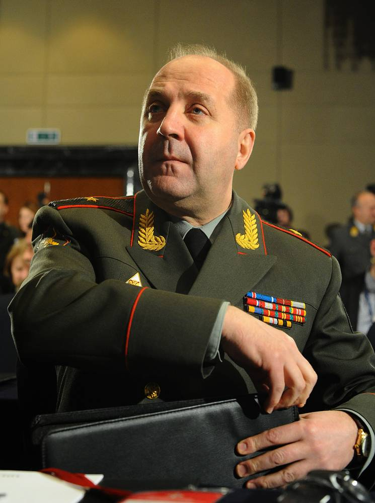 Head of Main Intelligence Directorate of the General Staff Igor Sergun