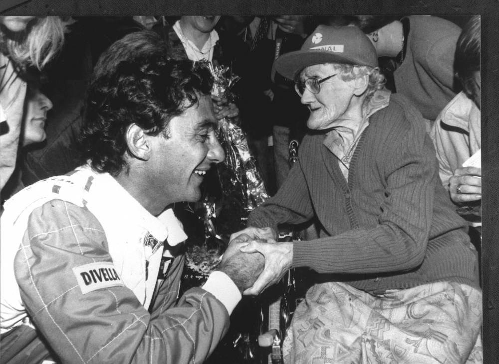 Ayrton Senna in 1994