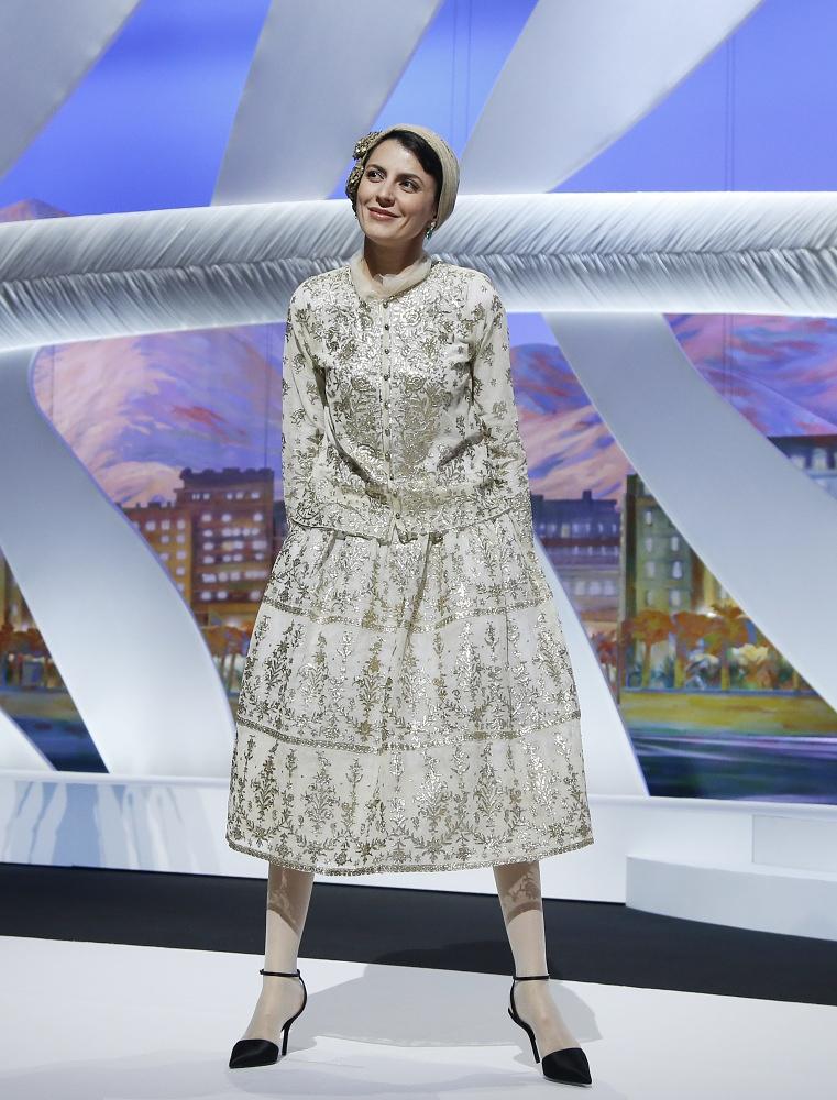Jury member, Iranian actress Leila Hatami