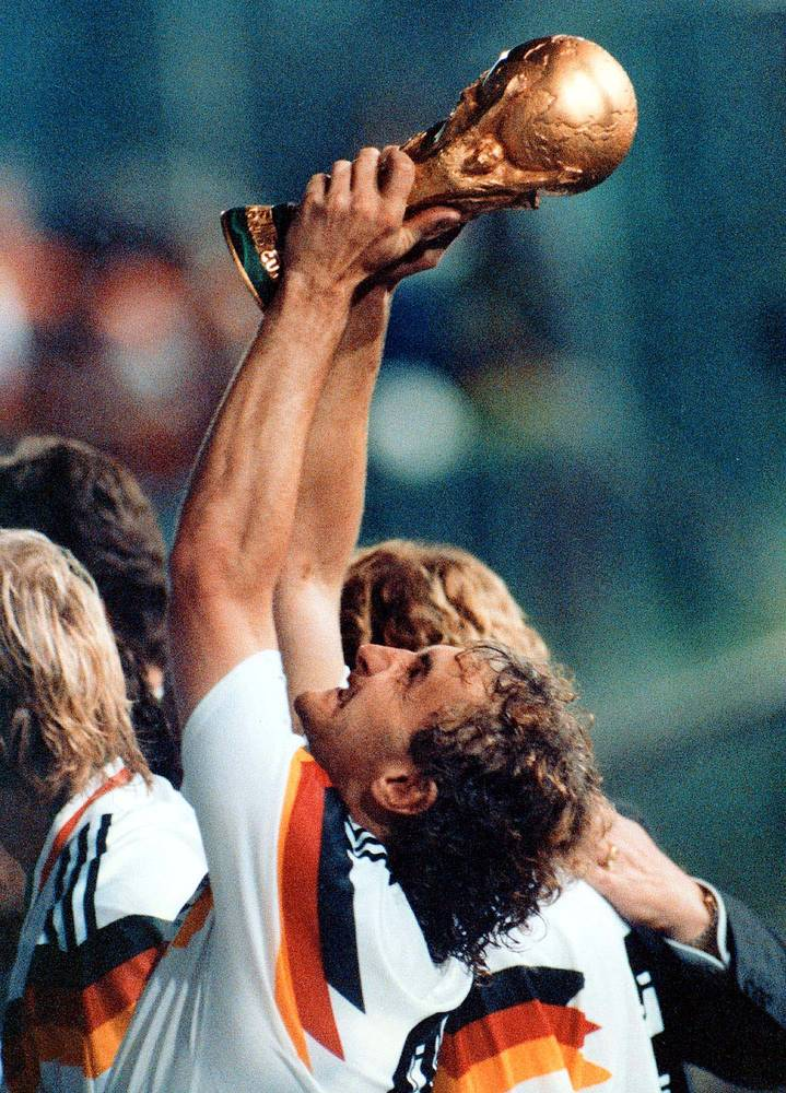 In 1990 the World Cup, held in Italy, was won by Germany, which defeated Argentina 1-0 in the final