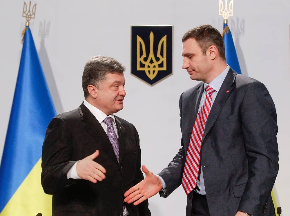 On March 29 2014 Poroshenko was registered as a presidential candidate. Another candidate, Vitali Klitschko, pulled back his candidacy to support Poroshenko
