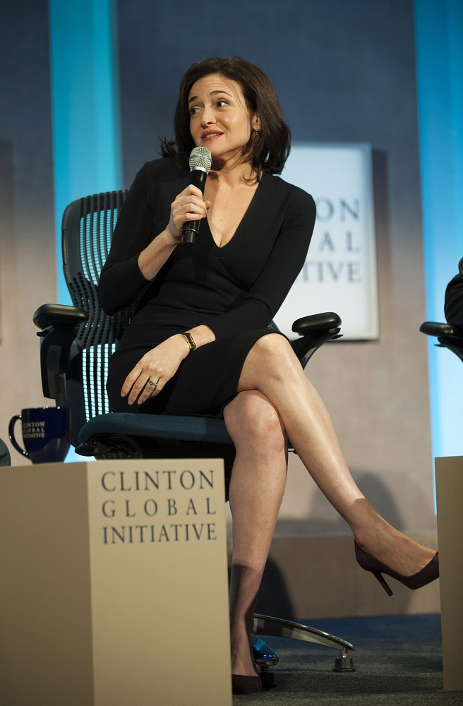 Chief operating officer of Facebook Sheryl Sandberg