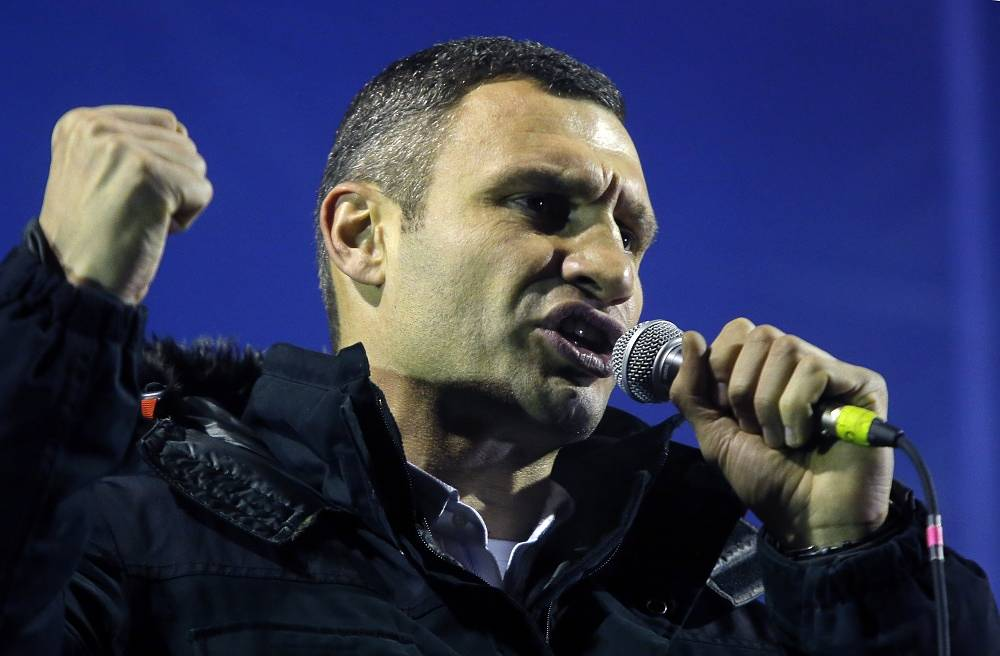 During the 'Maidan' protests Vitali Klitschko criticised Viktor Yanukovych's policy. The leader of the Udar party called for early presidential election
