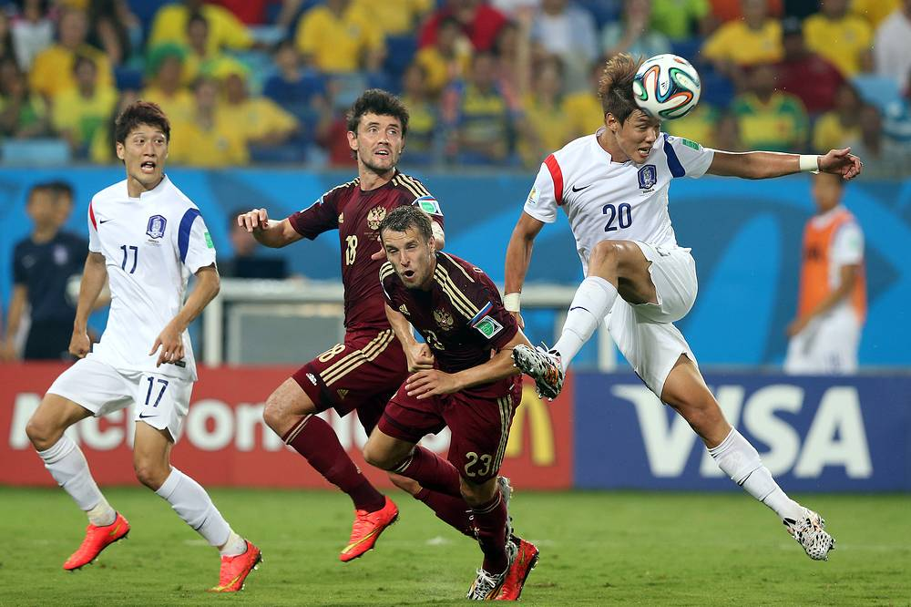 Russia - S. Koreea