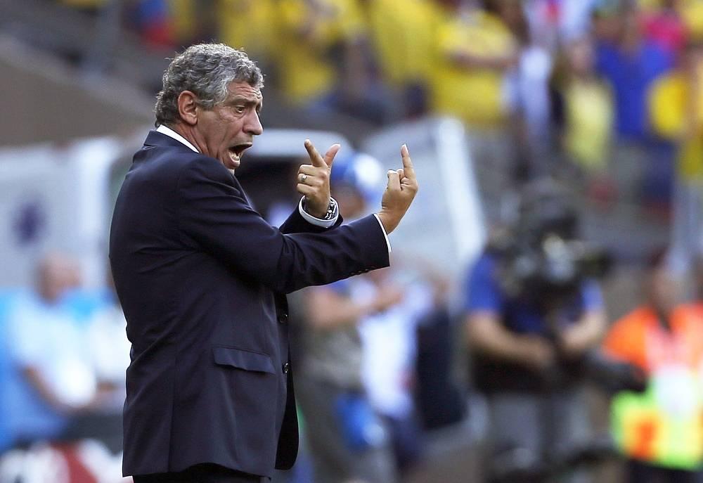 Greece national team coach Fernando Santos