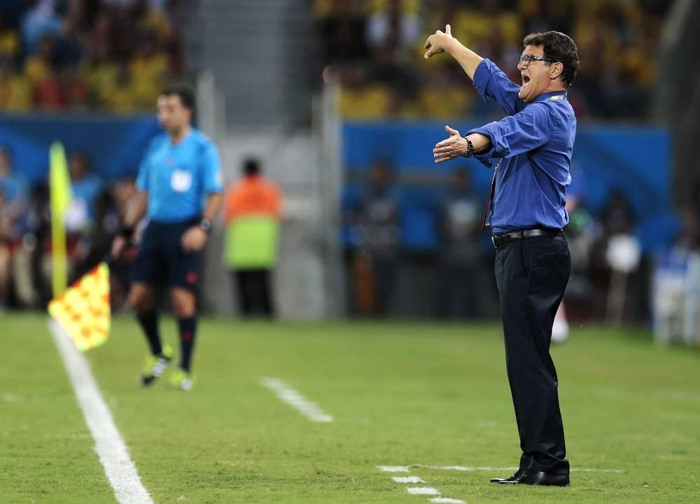 Russian national team coach Fabio Capello