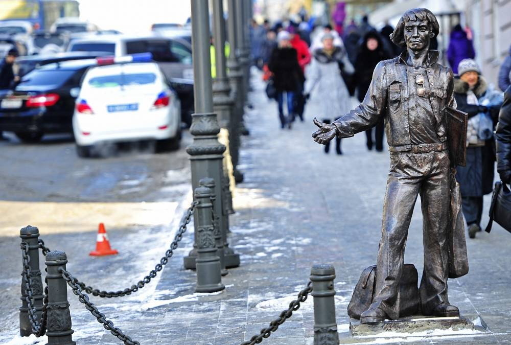 A monument to merchant seamen in Vladivostok