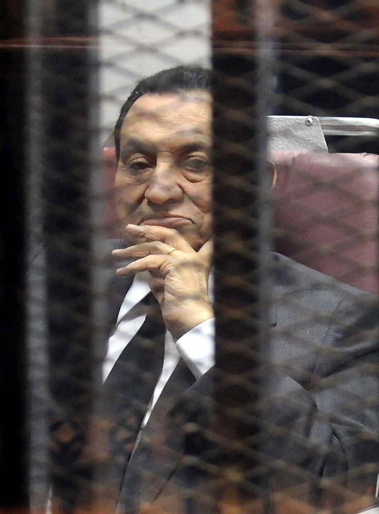InMay 2014 CAiro's criminal court sentenced Egypt's ex-president Hosni Mubarak to three years' imprisonment on charges of theft of state funds