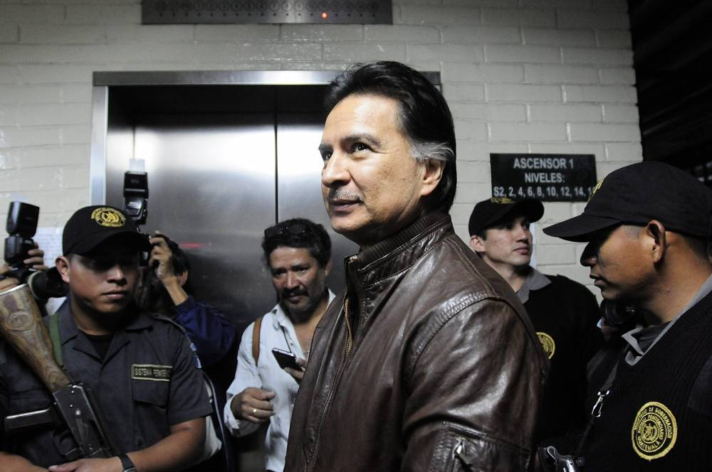 On May 23, 2014 ex-president of Guatemala Alfonso Portillo was sentenced to four years and 10 months in prison for taking a bribe from Taiwan authorities and money laundering.  Portillo pleaded guilty