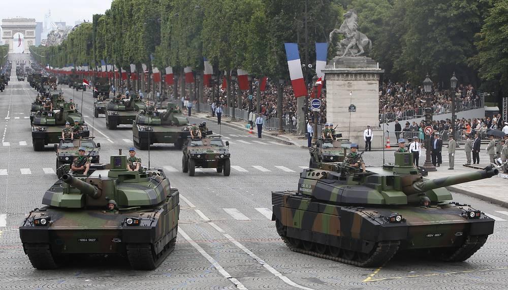 Leclerc tanks