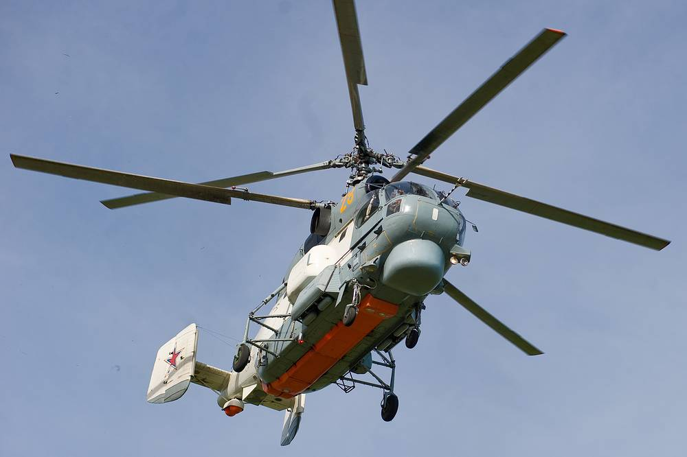 Kamov Ka-27 anti-submarine and transport helicopter