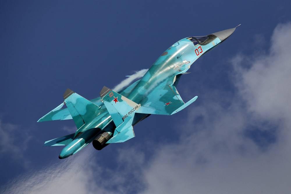 Su-34 fighter