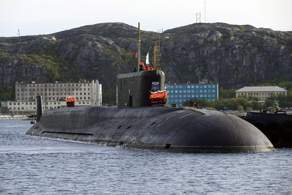 Another fourth generation Borei class ballistic missile submarine Yury Dolgorukiy