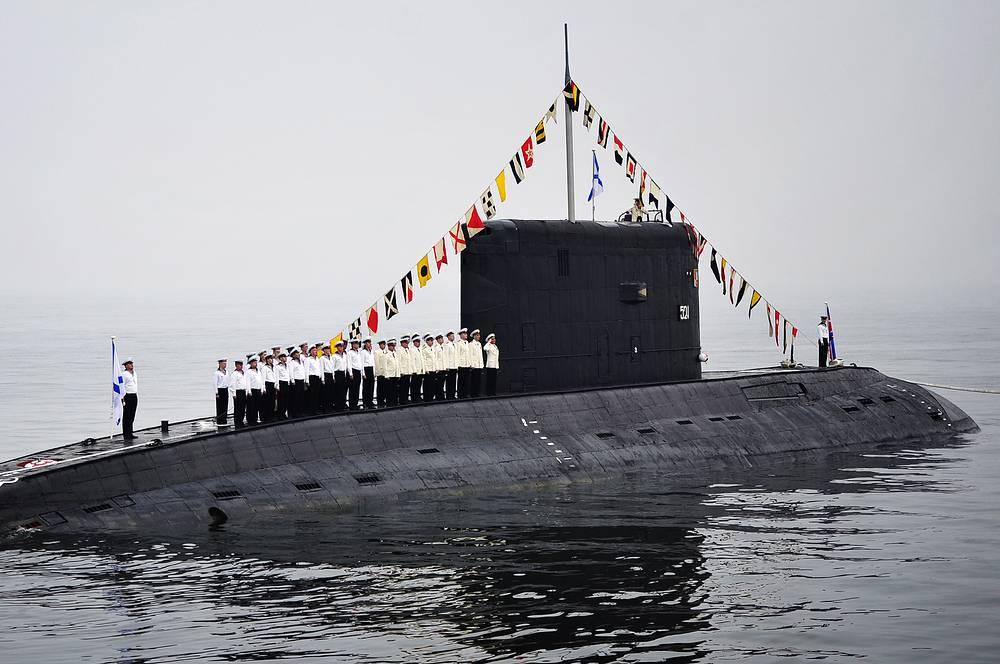 Project 636 diesel submarine Varshavyanka