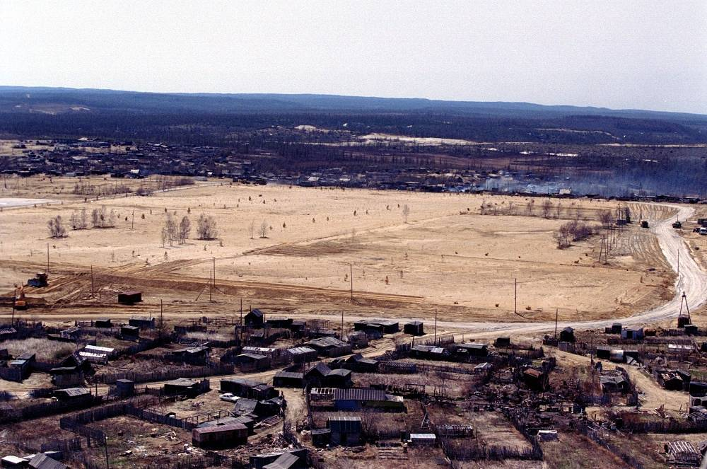 Neftegorsk in Russia's Sakhalin Region was completely destroyed in a 1995 earthquake. Over 2000 people died in the disaster