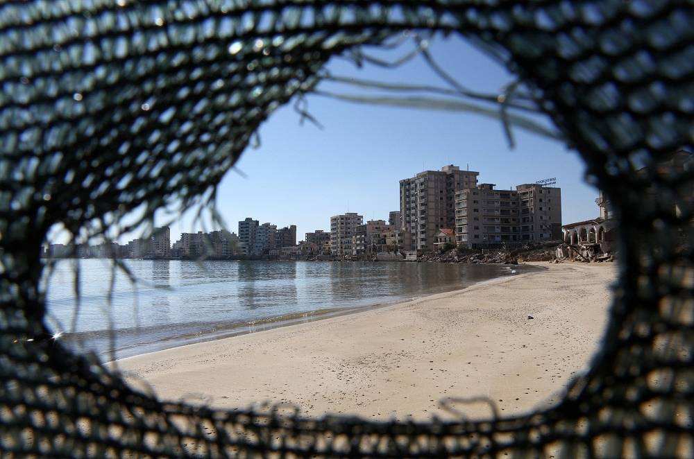 The neighbourhood oof Varosha in Cyprus' Famagusta used to be a touris center before the military conflict in 1974
