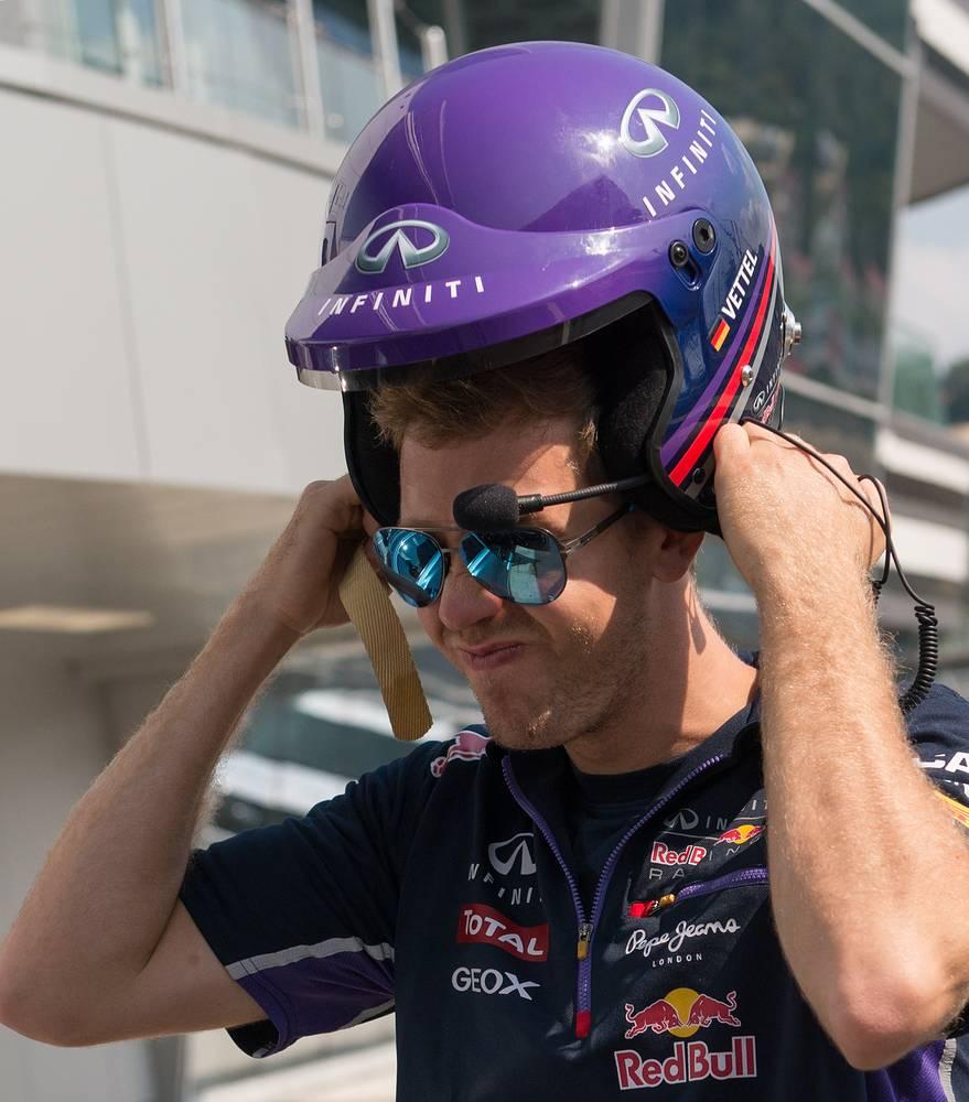 Sebastian Vettel in Sochi