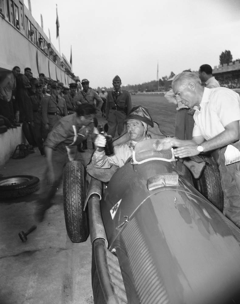 The modern era of Formula One (the formula in the name refers to a set of rules to which all participants and cars must comply) began in 1950.  
