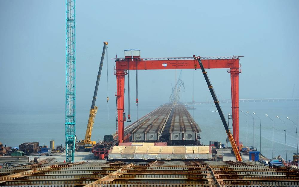 Another sphere of cooperation is construction of a bridge across the Amur River