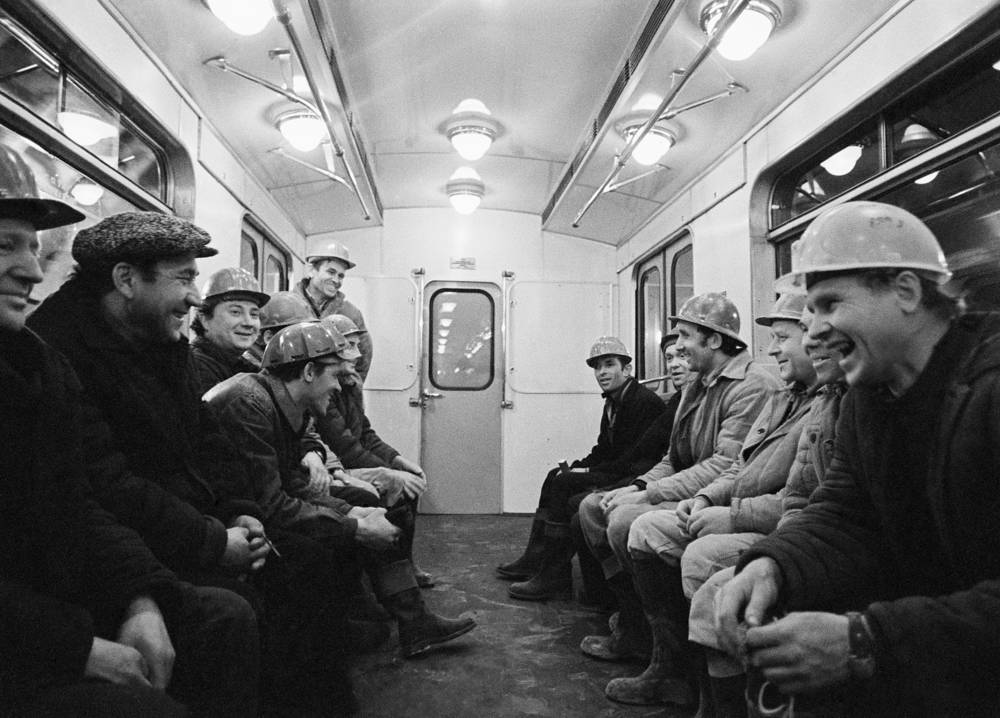 Soviet workers did the labor and the art work, but the main engineering designs, routes, and construction plans were developed with the help of London Underground construction engineers