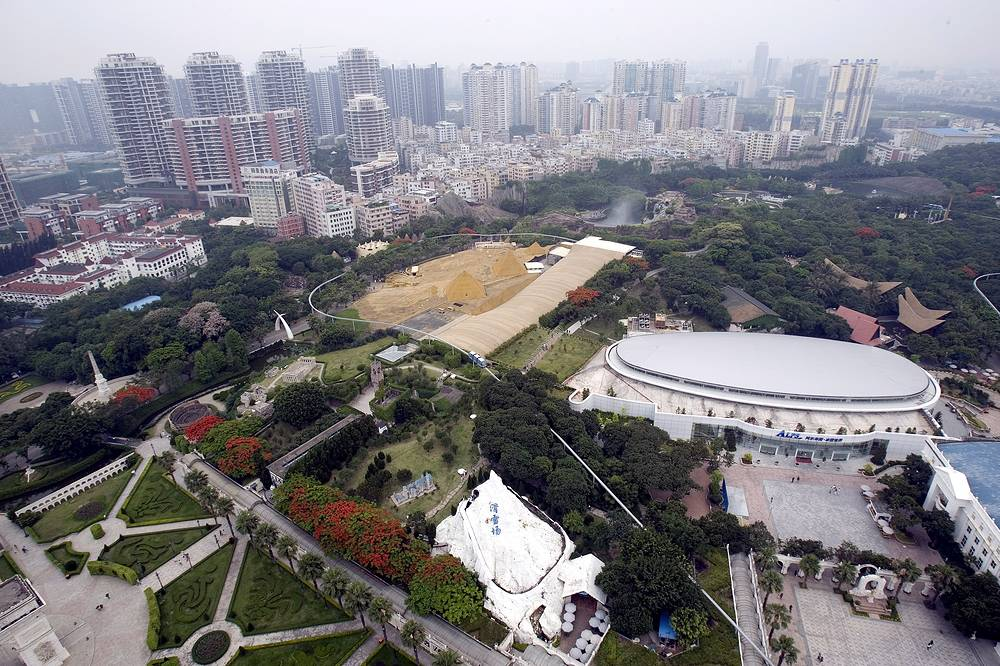 Special economic zones are very common all over the world.  In these zones business and trade laws differ from the rest of the country. China has several. One of them is the city of Shenzhen, southern China's Guangdong province