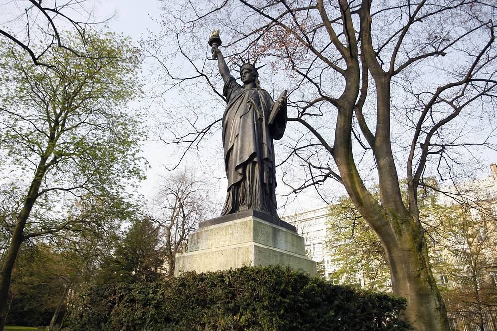 Another french replica of Statue of Liberty can be found at the Luxembourg park in Paris
