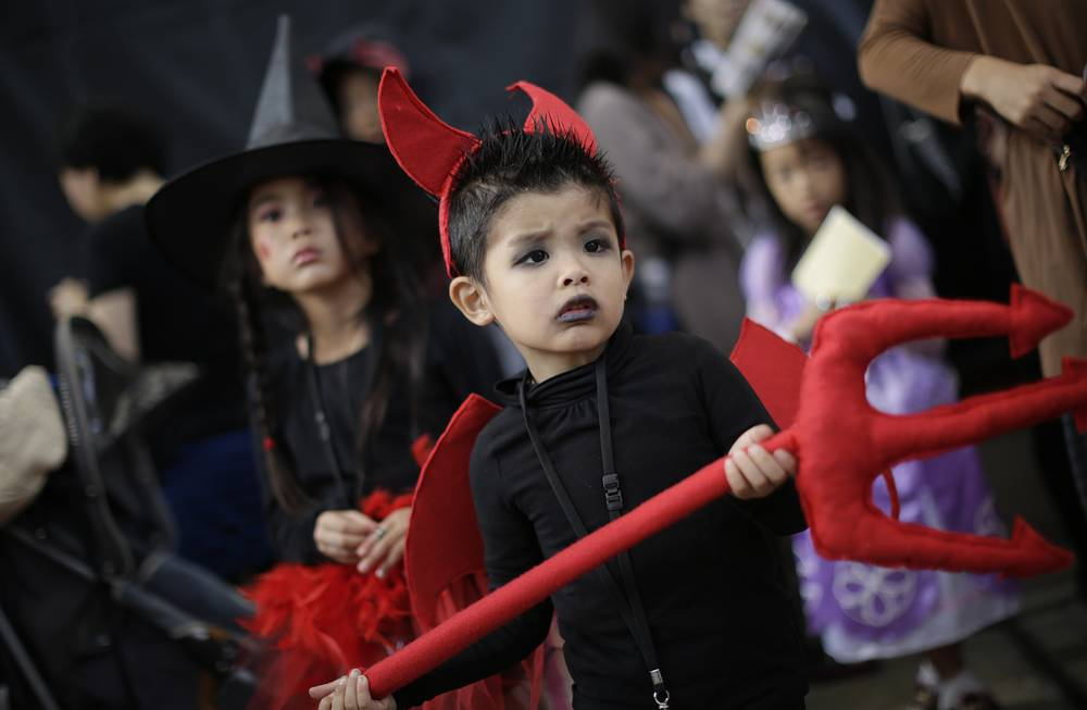 Photo: Halloween costume festival, Tokyo, Japan, October 25, 2014
