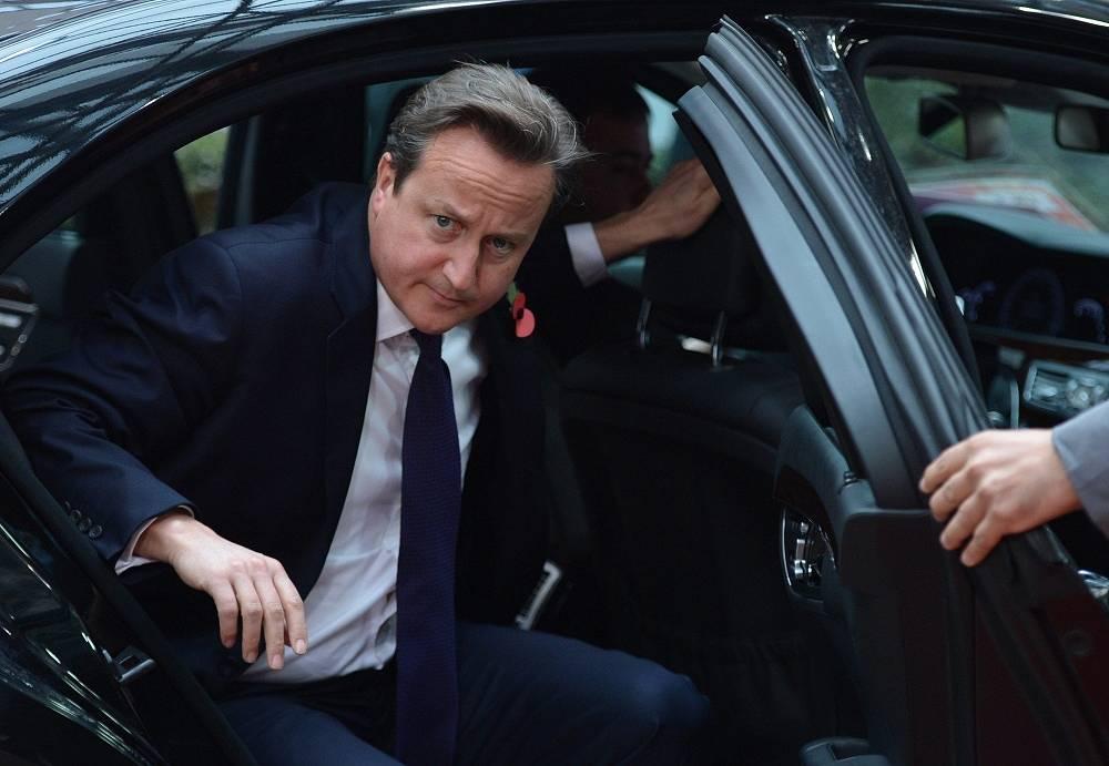 10. British Prime Minister David Cameron