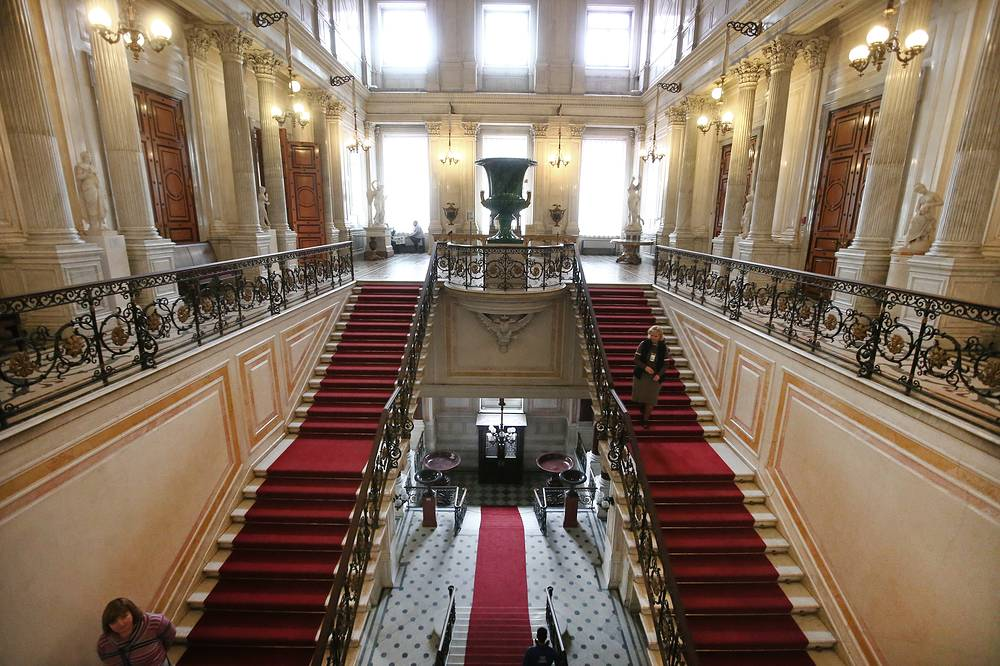 Soviet Staircase in Hermitage museum