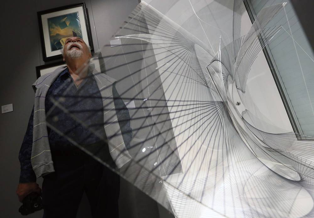 The opening of the Artstory modern art gallery in Moscow