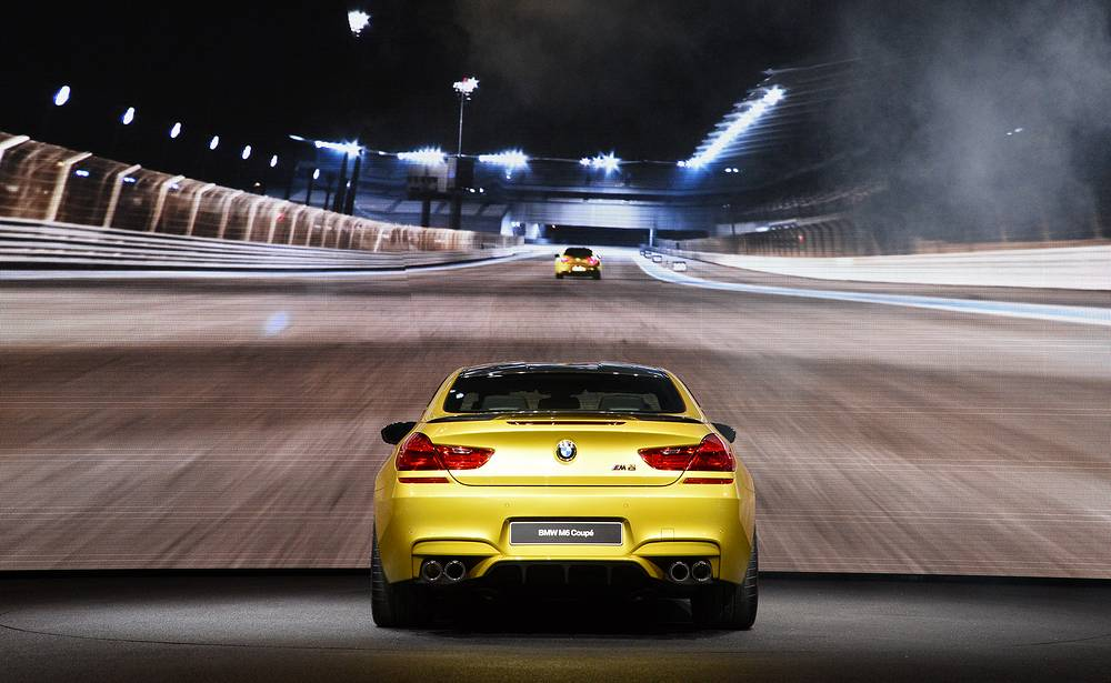 New BMW M6 Coupe