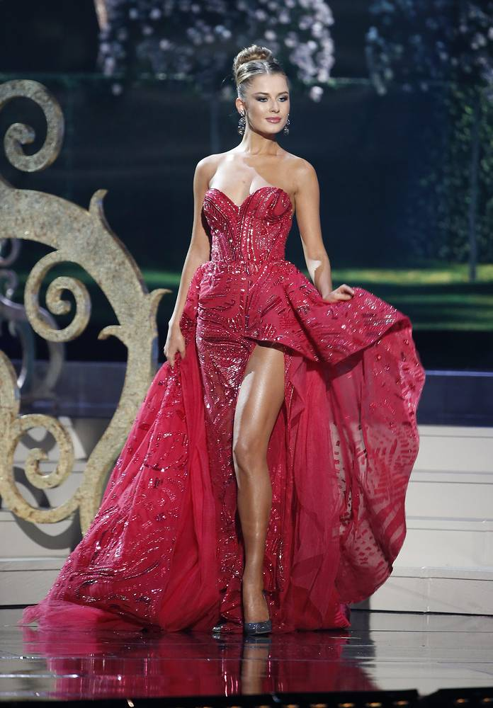 Miss Ukraine Diana Harkusha