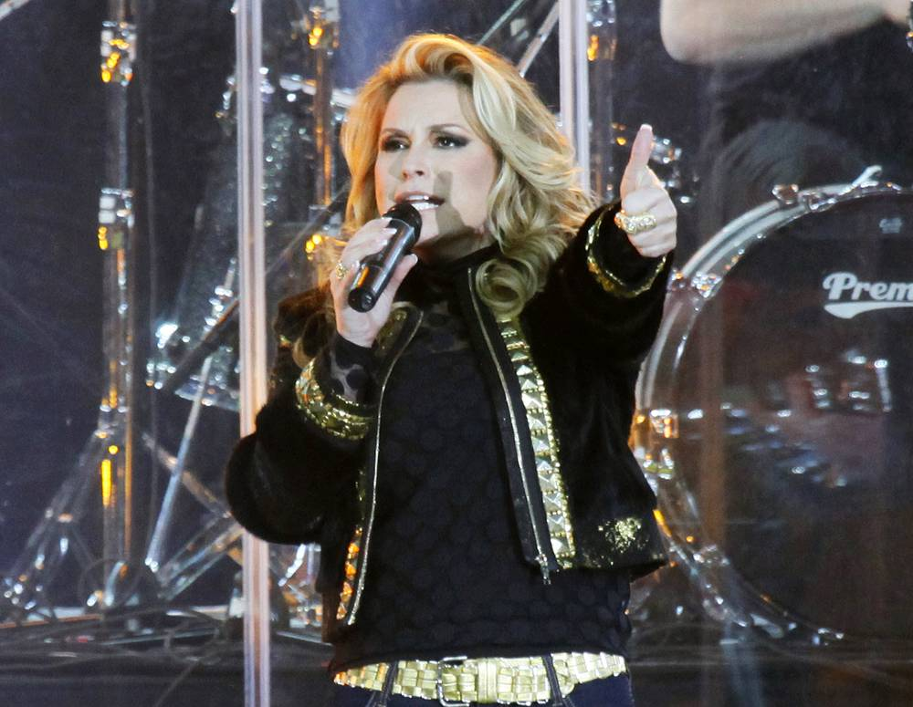 American singer Anastacia underwent double mastectomy after being diagnosed with breast cancer