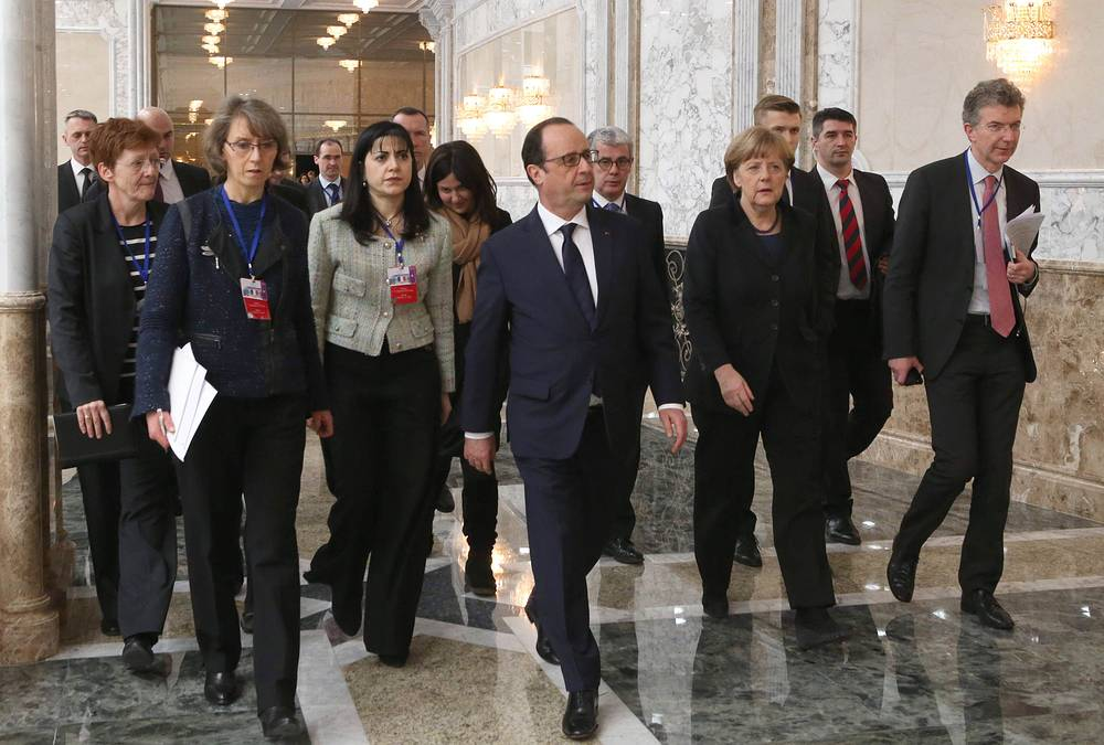 Participants of Minsk summit agreed on ceasefire from midnight, February 15