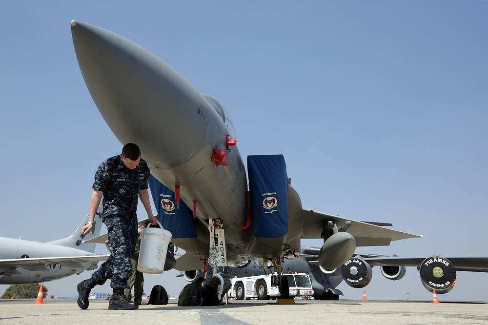 McDonnell Douglas F-15 Eagle twin-engine, all-weather tactical fighter