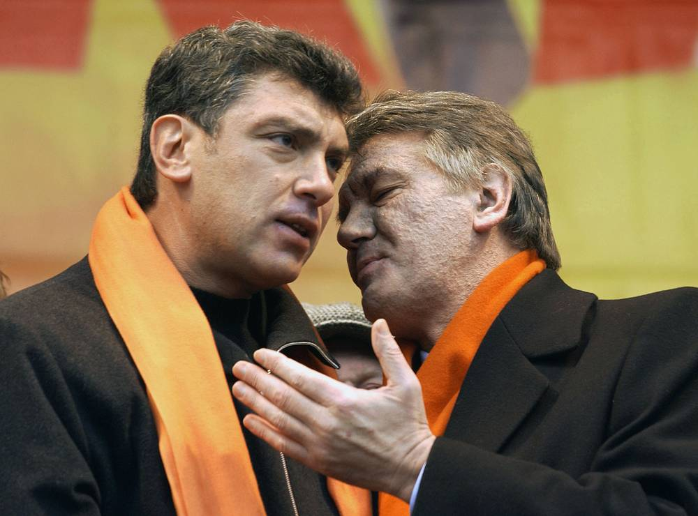 In 2005-2006 Boris Nemtsov was an economic advisor to the Ukrainian president Viktor Yushchenko