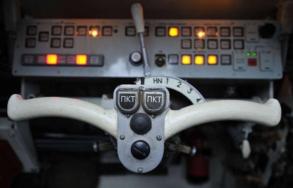 Inside the Rakushka pesonnel carrier