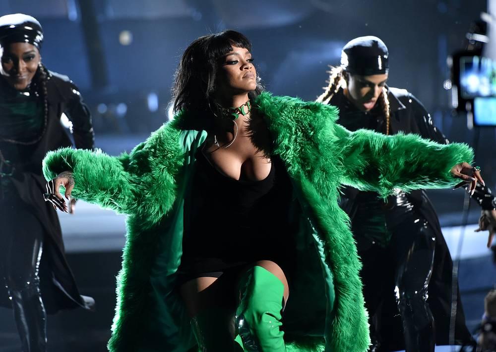 4. Barbadian singer Rihanna
