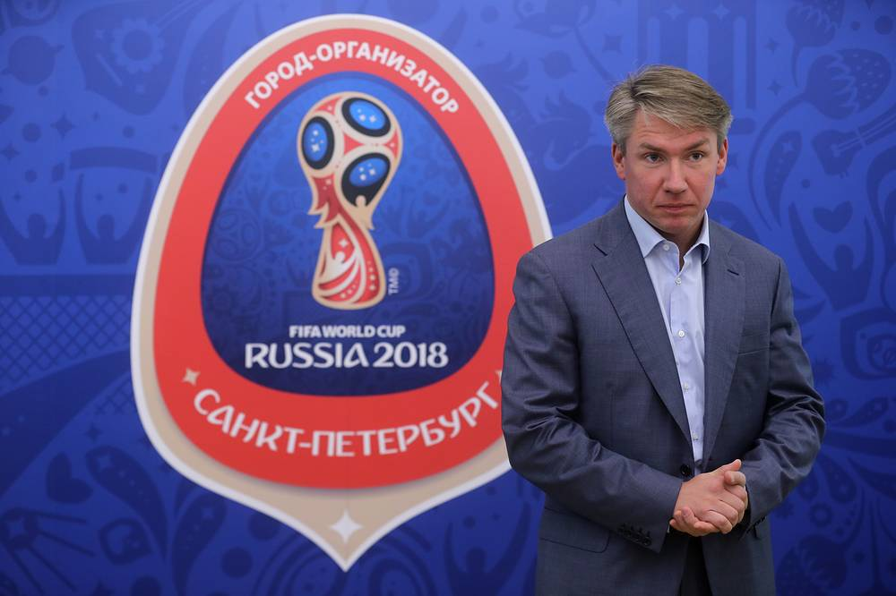 Director General of the Russia-2018 Organizing Committee Alexey Sorokin