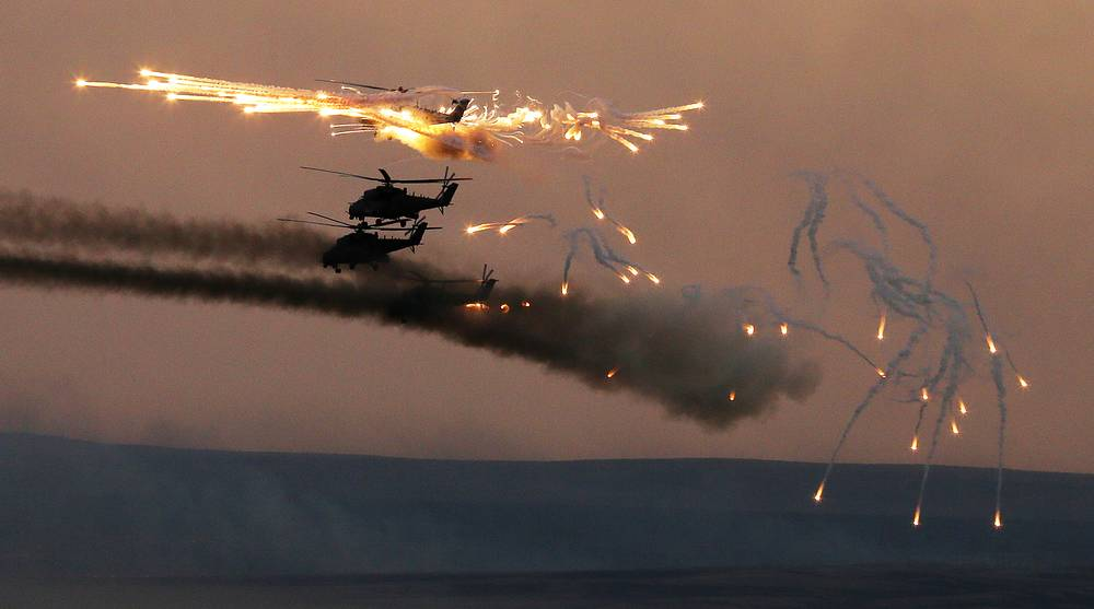 The drills involved some 95,000 people, over 7,000 items of armaments and military hardware, up to 170 aircraft and 20 vessels
