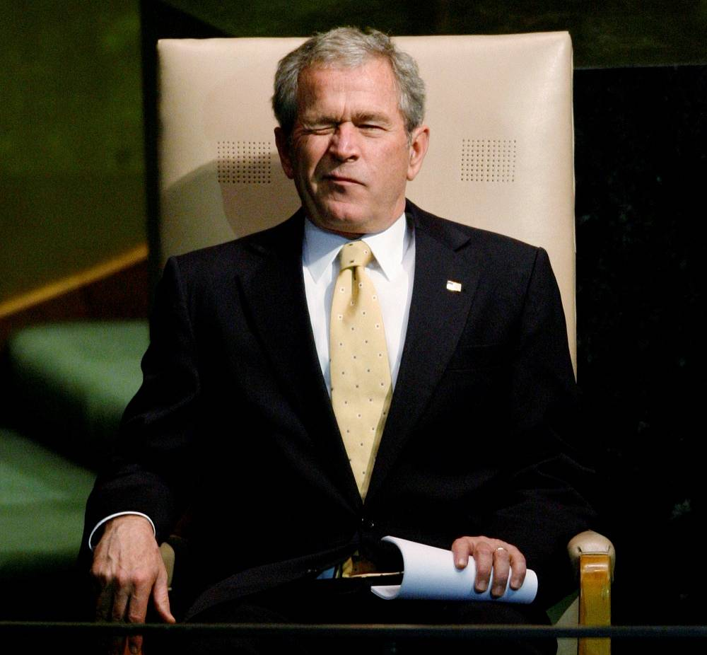 """Chavez was irritated with the George W. Bush using the term """"axis of evil"""" in his speech, which he repeatedly used to describe governments that he accused of helping terrorism. Bush's """"axis of evil"""" included Iran, Iraq, and North Korea. """"Beyond the Axis of Evil"""" included Cuba, Libya, and Syria"""