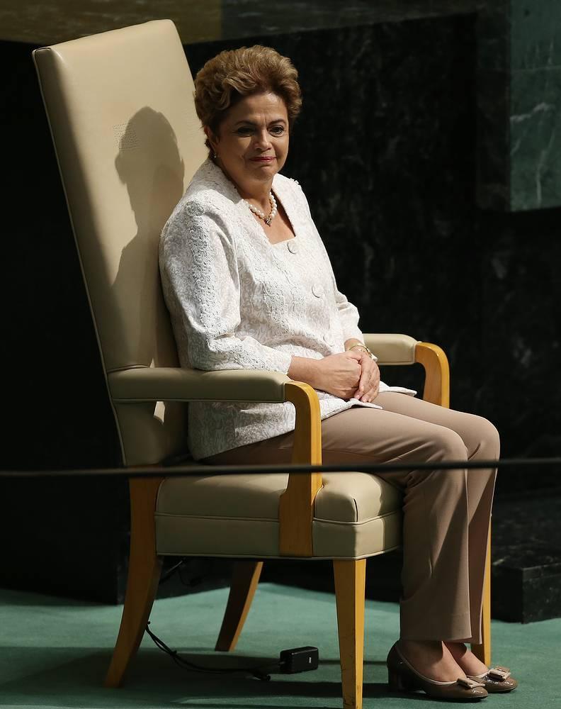 President of Brazil Dilma Rousseff