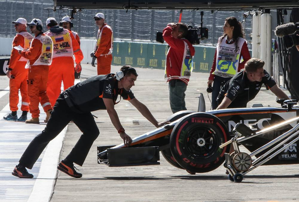 Four-time Formula1 champion Ferrari's Sebastian Vettel finished the race in the second place