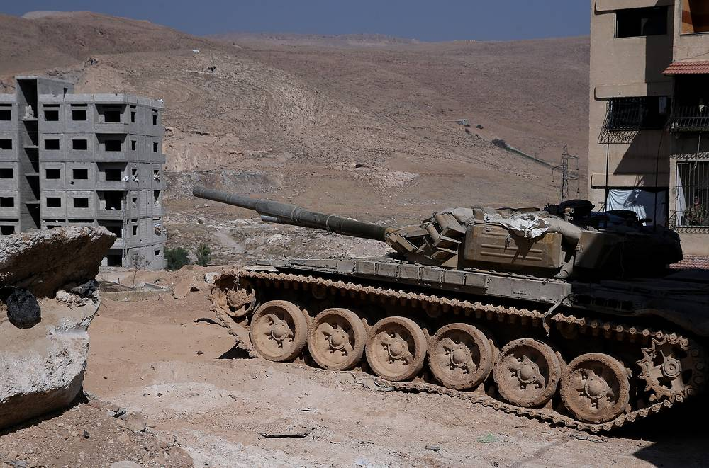 Armoured vehicle of the Syrian armed forces