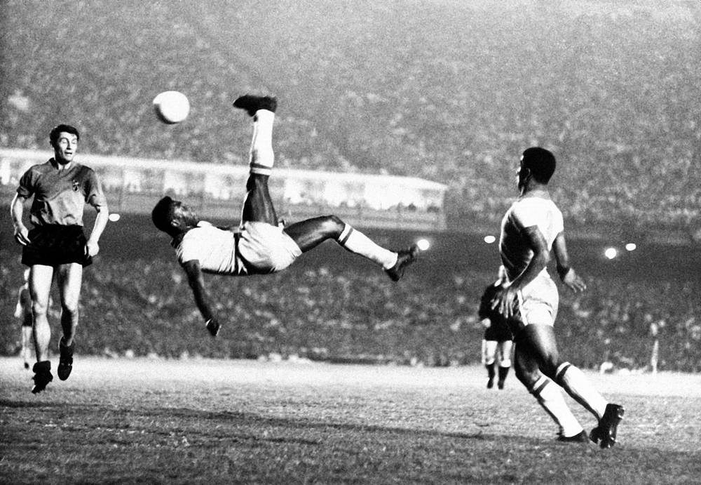 Pele played 91 matches and scored 77 goals for Brazil National Team