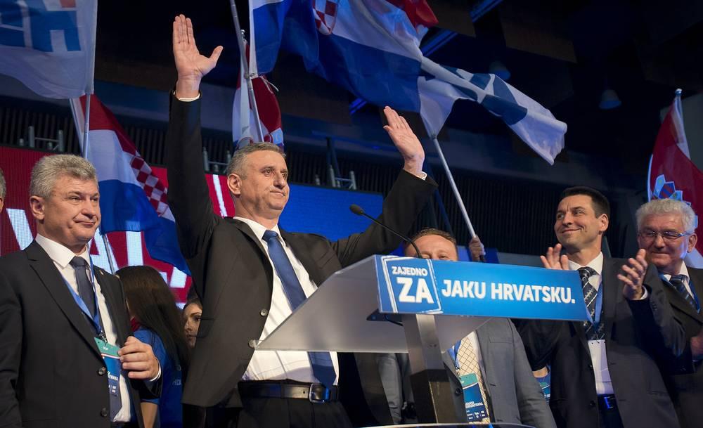 Opposition leader Tomislav Karamarko